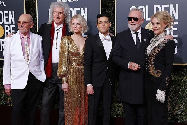 Две голливудские звезды явились на Золотой глобус 2019 в платьях украинских брендов