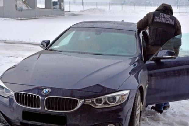 В Польше задержали украинца на краденом BMW за 1,5 млн грн