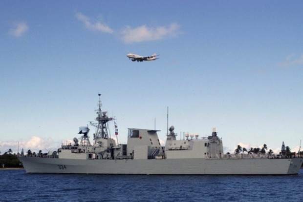 Канадский фрегат зашел в Черное море