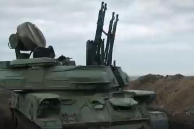 ВСУ провели стрельбы возле побережья Азовского моря