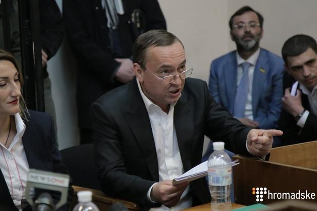 Взять на поруки Мартыненко согласны 15 нардепов и 4 министра