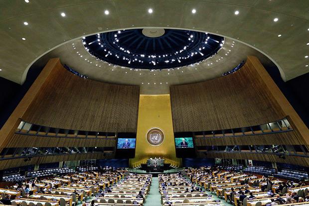 Порошенко презентует идею введения миротворцев на Донбасс на Генассамблее ООН