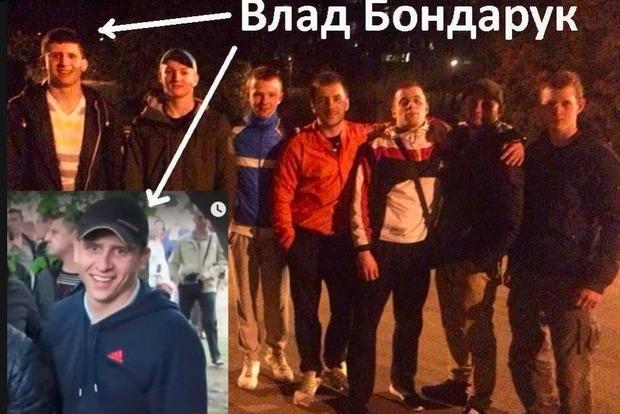 В соцсетях опознали «титушек», избивших АТОвцев в Днипре 9 мая