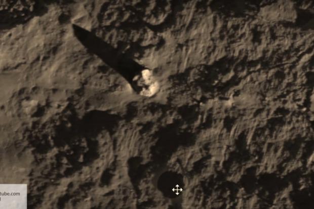 Под поверхностью Луны найдена сеть глубоких туннелей