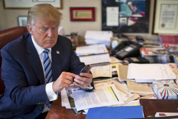 Трамп в Twitter вновь перепутал аккаунты