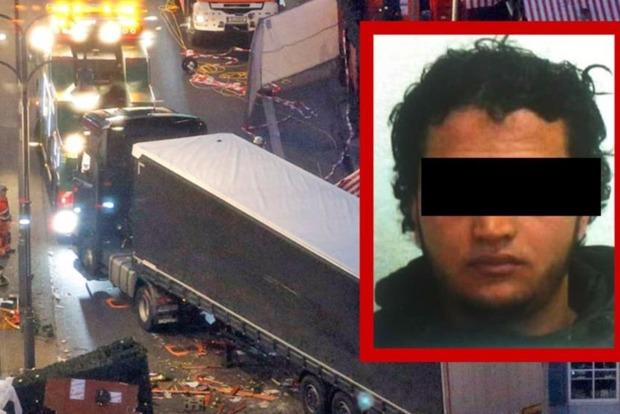Bild опубликовало фото подозреваемого в теракте в Берлине