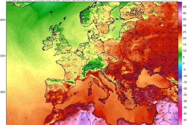На Троицу синоптики обещают высокую температуру воздуха