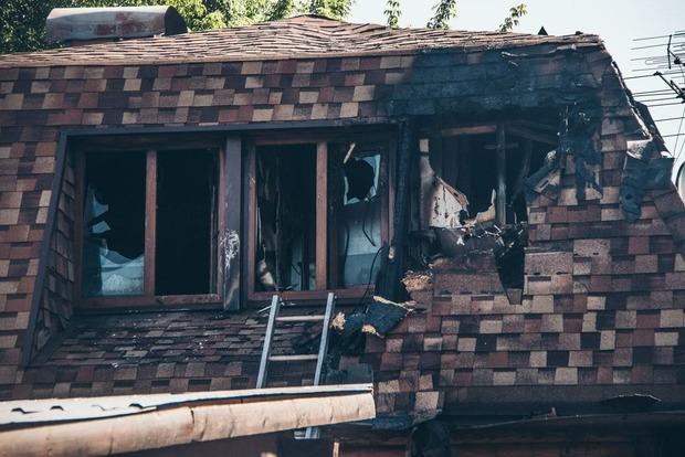 Не допоміг еліксир: У Києві вщент згоріла елітна баня Гонтаревої