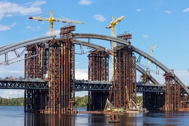 На Подольский мост в Киеве выделили еще 1,25 млрд грн