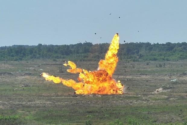 Опубликовано видео испытаний украинско-польского ударного беспилотника