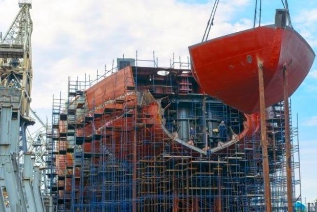 Началось строительство первого китайского ледокола