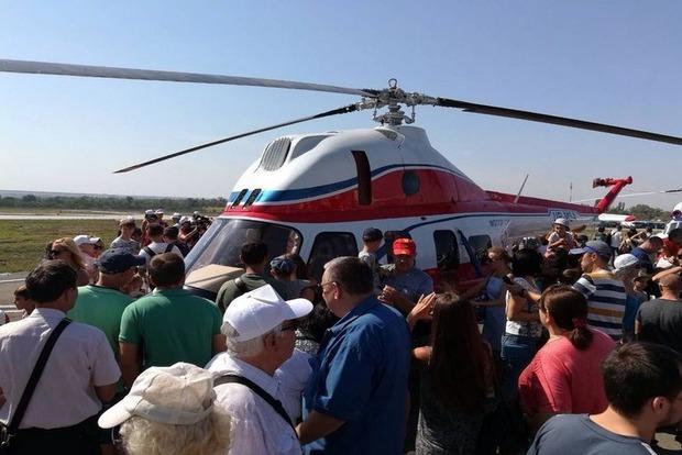 «Мотор Сич» представил первый украинский вертолет