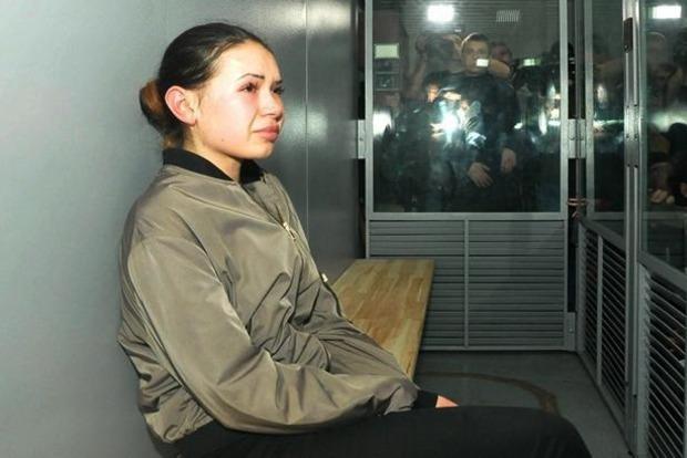 Охранники рассказали, чем виновница ДТП в Харькове Алена Зайцева занимается в СИЗО