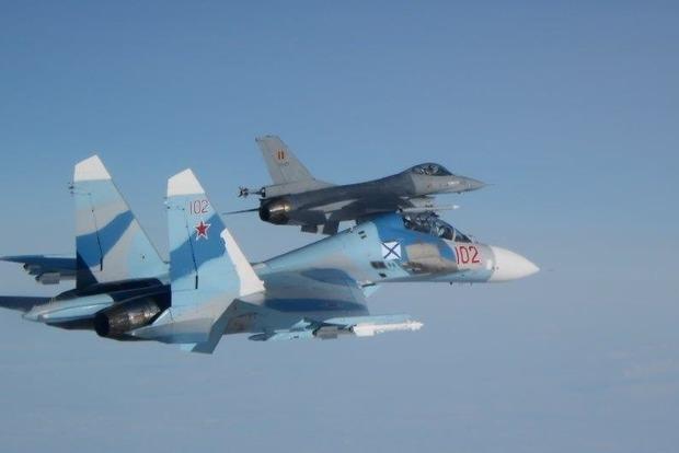 ВВС Бельгии перехватили над Балтикой три российских истребителя
