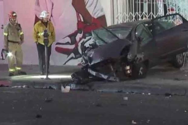 ВЛос-Анджелесе нетрезвый шофёр врезался втакси, пострадали три украинки