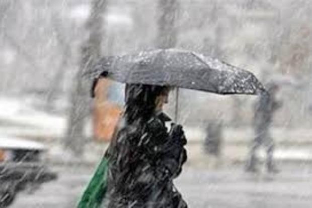 В Запорожье из-за непогоды остановлены занятия в школах, в области обесточены 26 населенных пунктов