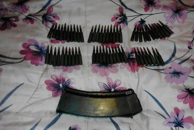 Полицейские Чернигова обнаружили у местного жителя арсенал оружия