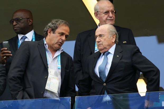 Блаттера и Платини отстранили от футбола на восемь лет