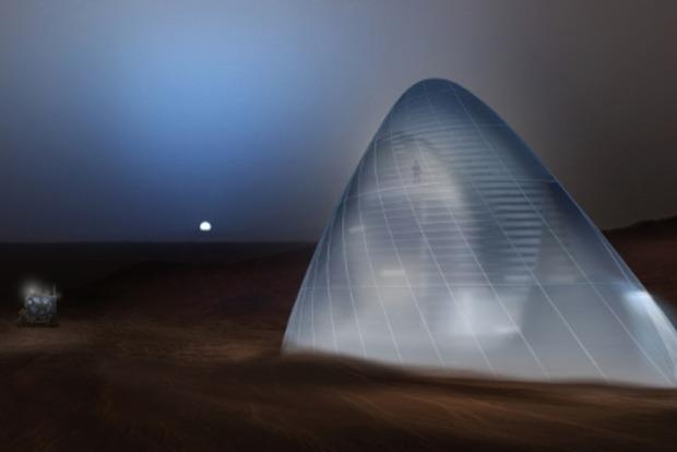 NASA предлагает строить на Марсе дома изо льда