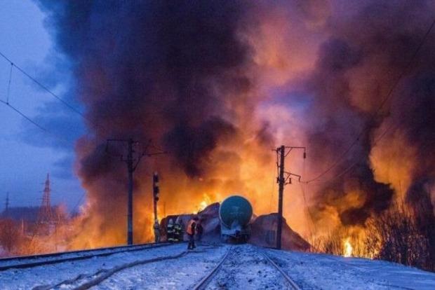Появилось видео разрушений после взрыва поезда с газом в Болгарии