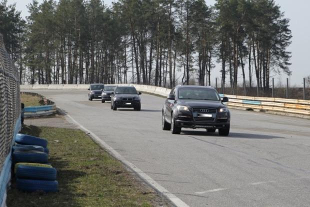 Как спецназ полиции КОРД экстремальному вождению учился