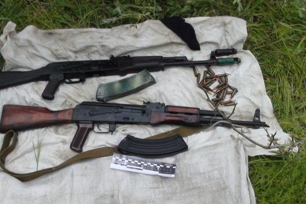 Под Запорожьем СБУ поймала торговца оружием с Донбасса