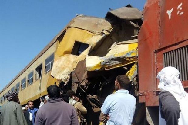 В Египте столкнулись два поезда, погибли 19 человек