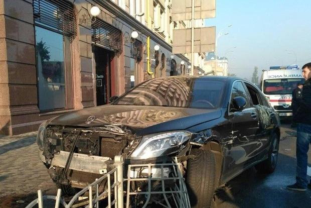 В Киеве эпилептик устроил массовое ДТП на Подоле