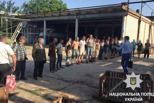 Готовили консервы: 30 рабов, среди которых беременная на 8-м месяце, освободила полиция в Одеской области