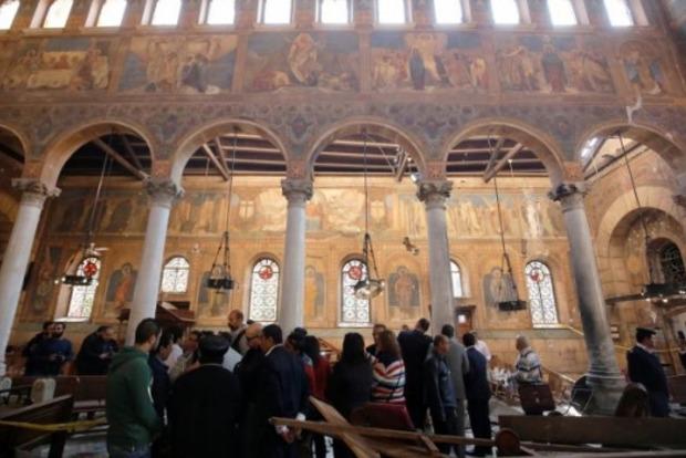 Количество жертв от взрыва в соборе в Каире увеличилось до 25