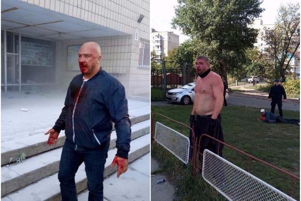 Спортсмены в кровавой драке отбили киевский спорткомплекс у рейдеров. Полиция не вмешивалась
