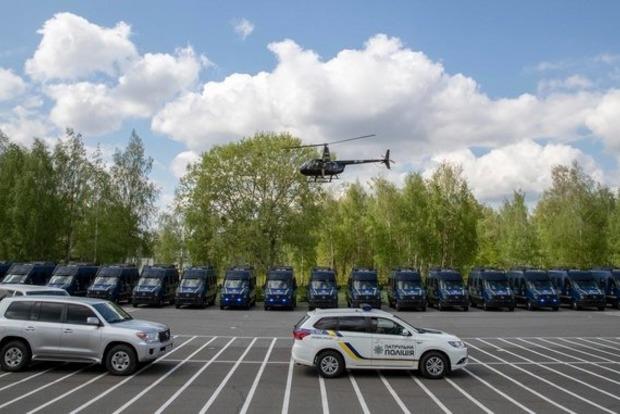 США передали спецподразделению КОРД 44 служебных автомобиля