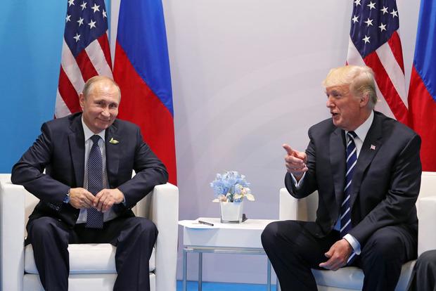 Трамп сказал, что отлично поладил с Путиным