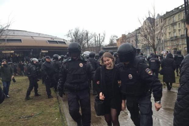 В Питере на акции против Путина задержаны 30 человек
