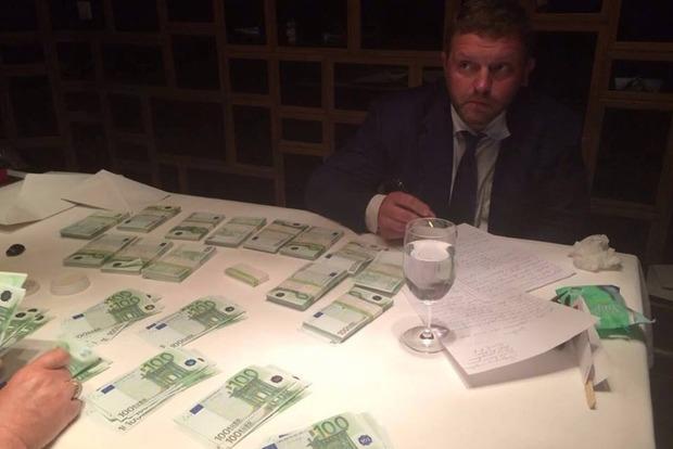 Российский губернатор попался на взятке в 400 тысяч евро