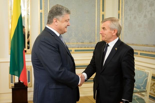 Порошенко и Пранцкетис обсудили план Маршалла для Украины