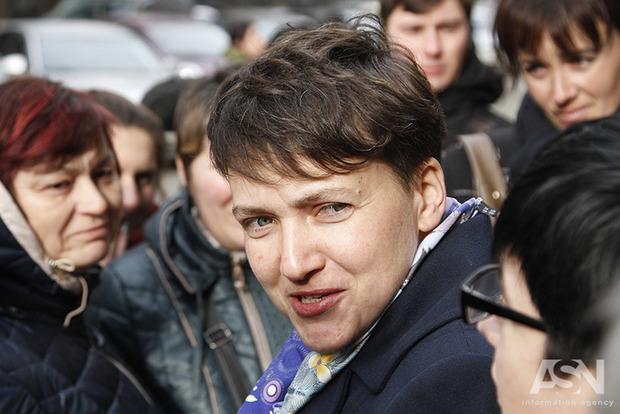 Савченко о планировании терактов - это был розыгрыш силовиков