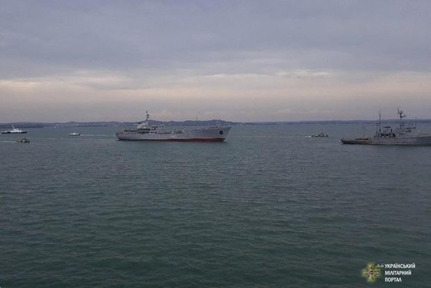 Часть Азовского моря закроют из-за военных учений