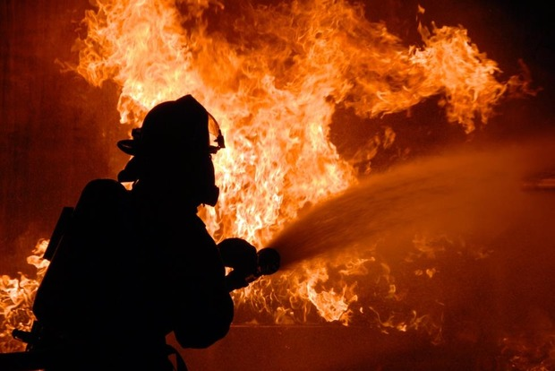 На Закарпатье горел природный парк