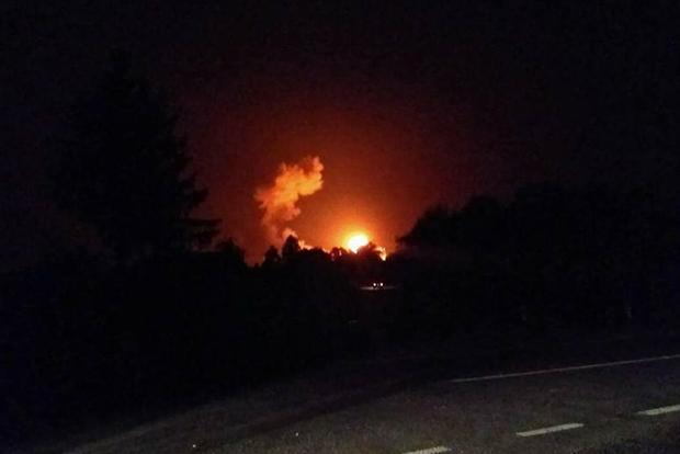 Воздушное пространство в радиусе 50 км от зоны взрывов в Калиновке закрыто еще на сутки