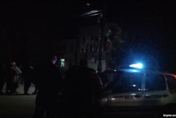 Полиция возбудила уголовное производство из-за взрыва в центре Геническа