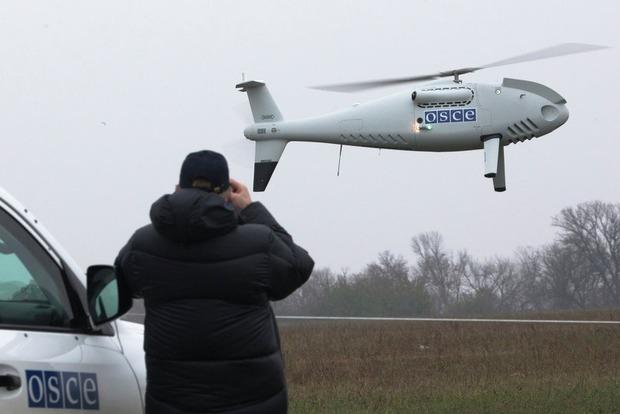 Боевики под Луганском обстреляли дрон ОБСЕ, который обнаружил «Грады» и «Гвоздики»