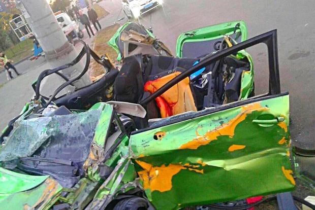 Полиция не видела: За 25 минут до кровавого ДТП виновник аварии ездил по ступенькам в центре Киева