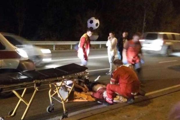 Замглавы банка в Киеве сбил насмерть пешехода