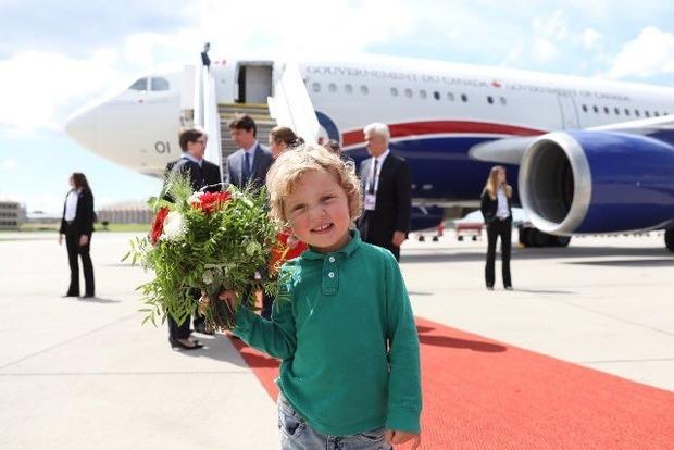 Трехлетний сын премьера Канады стал звездой саммита G20