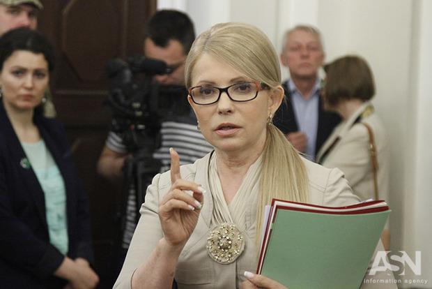 Тимошенко страдает от трагедии в третью годовщину президентства Порошенко