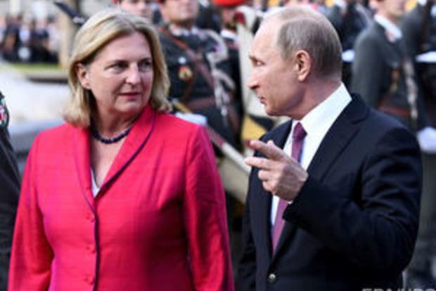 Спецслужбы Австрии стоят на ушах: к ним едет царь Путин
