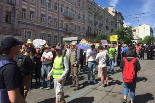 Из Шевченковского райотдела отпустили 10 человек, задержанных после Марша равенства
