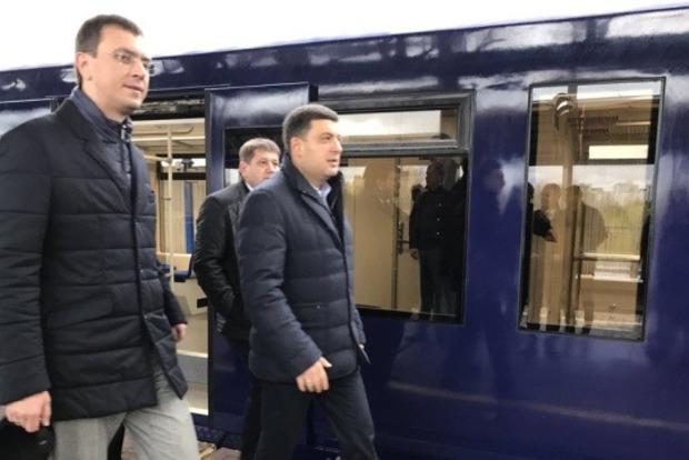 Первый тестовый заезд совершил экспресс в Борисполь