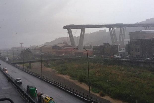 Десятки человек погибли при обрушении моста в Генуе